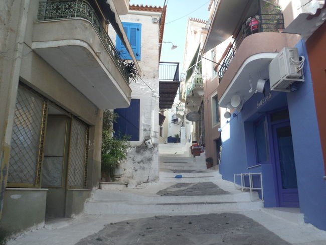 The streets of Poros Alley Alone Greece Long No People Outdoors Poros Street First Eyeem Photo