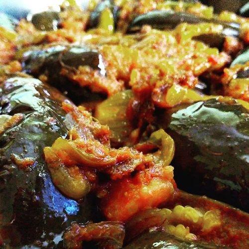 Cuisine Lazysaturday Mothercooking Lazeez Sumptuous Brinjal Yumm