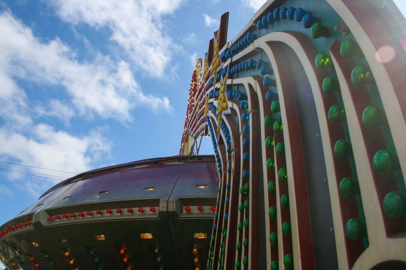 Back in my day this was called the Gravitron, now they call it the Starship. 😁 My kiddos loved it! I used to too when I was young. Now these types of rides make me sick! 😂 Puyallup Fair Fair Tourism Sunshine Pacific Northwest  Vibrant Color Multi Colored Colorful Fairground Enjoyment Fun Rainbow No Filter, No Edit, Just Photography