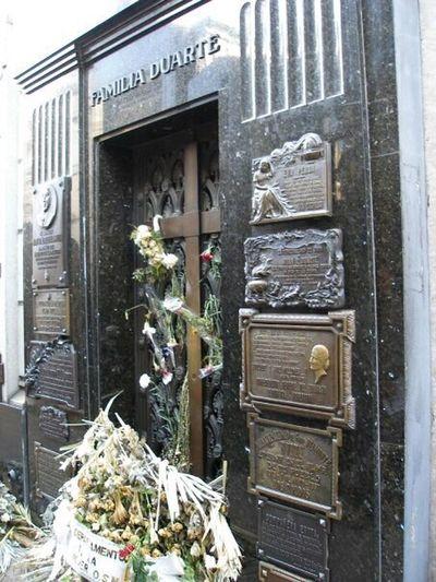 Buenos Aires Argentina Recoleta Cemetery Travel Eva Perón Evita