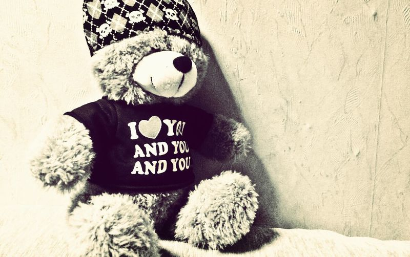 My love <3 Teddy Bear My Love❤ Sweet Home Warmth On A Winter Day