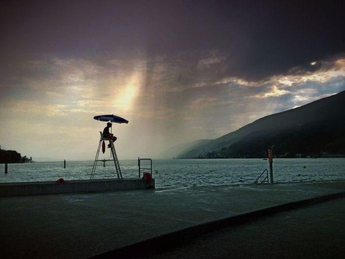 IPhoneography Rain Biel-Bienne Biel