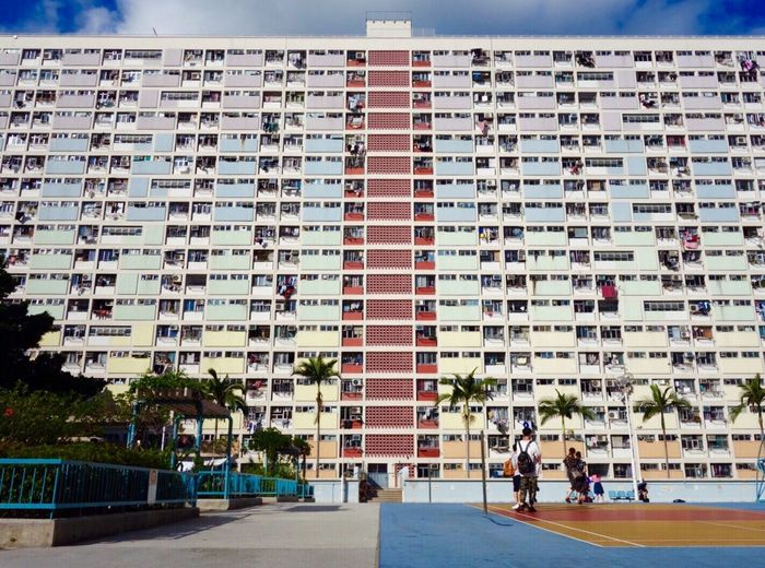 Choi Hung Estate Traveling Iamonmywaytoeverywhere Hong Kong Architecture Built Structure Building Exterior Building