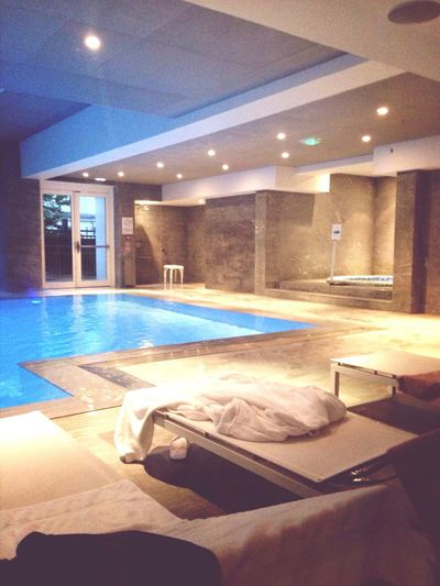 Spa Swimming Pool Hotel Enjoying Life