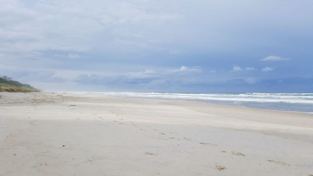 Beach is all mine! Hanging Out Enjoying Life Relaxing