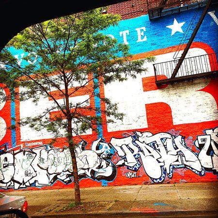 Bernie2016 Mural Bronx