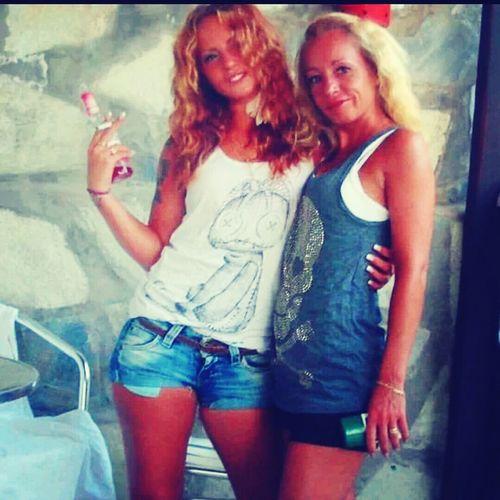 Me and my daughter ♡ Skiathos Enjoying Life Enjoying Drinks !! Sweden