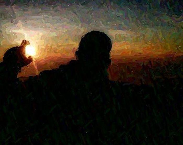 Mencoba tehnik paint moga berkenan Arteurope ArtWork Artindonesia Artpaint Painteditmyself Paint Bestartistever Lukisan Artword Art Artist Artistic Abstract Abstractart Absurd A Panorama Landscape Indonesian Indonesiaart Instaeurope Photooftheday Igers IGDaily Paint bestartfeatures praumountain tree camping sunrise sun