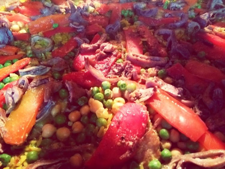 Paellas PaellaValenciana Arroz Rice Food And Drink Ready-to-eat Day Close-up
