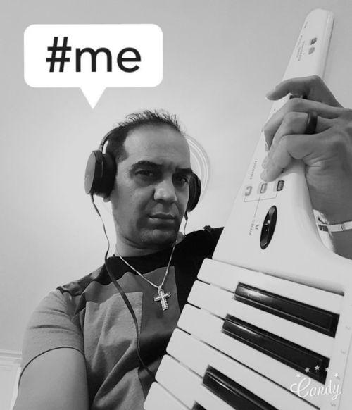 Me Selfie ✌ Faces Note5photography Tehran, Iran Selfie Portrait Selfie ♥ Saeed.chavoshi Music Roland Ax Synth Keytar Self Potrait Man Musician