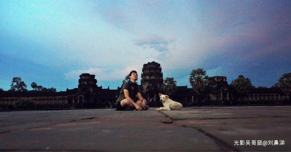 Memory Of Travel 2014 Angkor Wat Portrait
