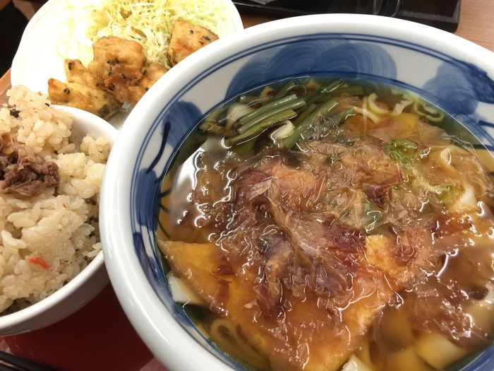 Enjoying A Meal Noodles Udon Udon Noodles Japanese Food うどん