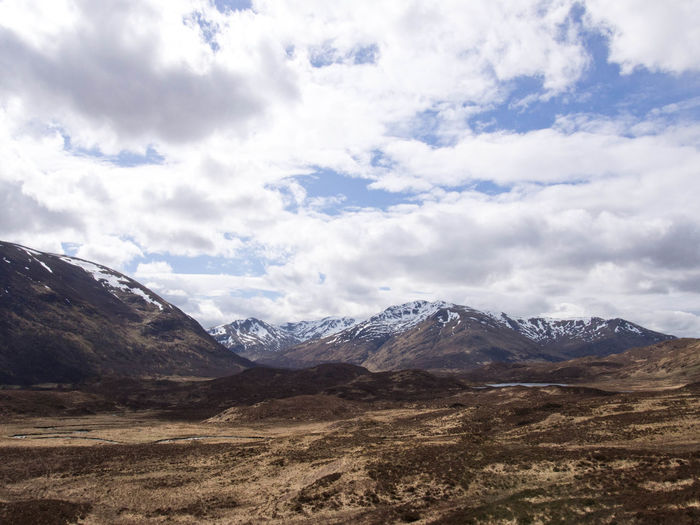 Glen Affric Loch Affric Scotland Walk Cloud - Sky Clouds And Sky Environment Height Lake Landscape Mountain Mountain Range Mountains Nature No People Outdoors Range Scenics - Nature Sky Snow Snow Covered Snowcapped Mountain Tranquility Travel Wilderness