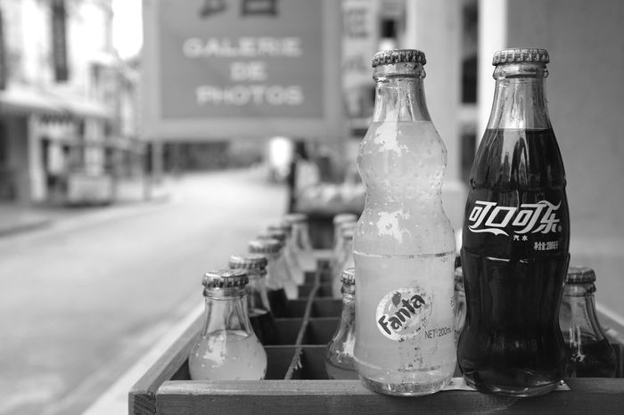 Coco Cola FujiX100T Happy Day☺ Enjoying Life EyeEm Best Shots Fujifilm X100T Stree Photography On The Road EyeEm Best Shots - Black + White Blackandwhite Photography Black & White