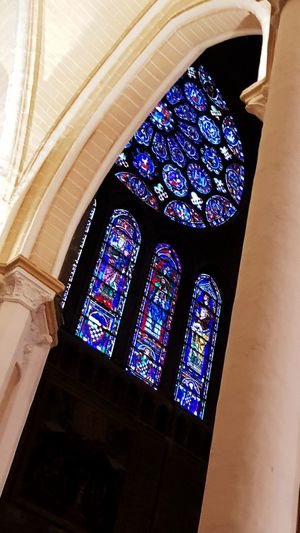 Multi Colored Place Of Worship Window Religion Arch Ceiling Architecture Built Structure Rose Window Architecture And Art Cathedral Decorative Art Architectural Detail Architectural Design Historic Architectural Feature Arched