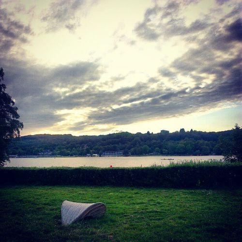 Feels like eigener Garten Krupp Sky Lake Villa Werden