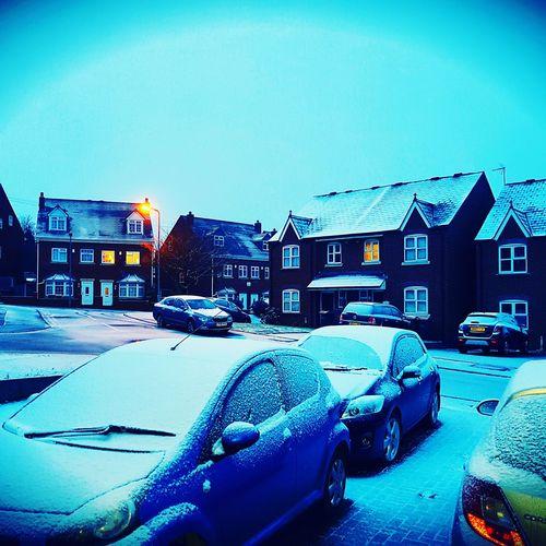 City Urban Skyline Sky No People Outdoors Day Snow ❄ Snowing BRRRR ❄️ Snowhite Early Snowfall