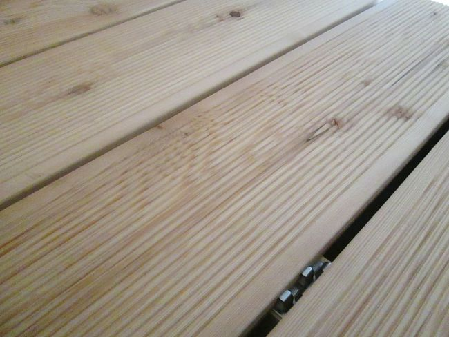 Decking Wood Wood Deck Larch Tree Larche