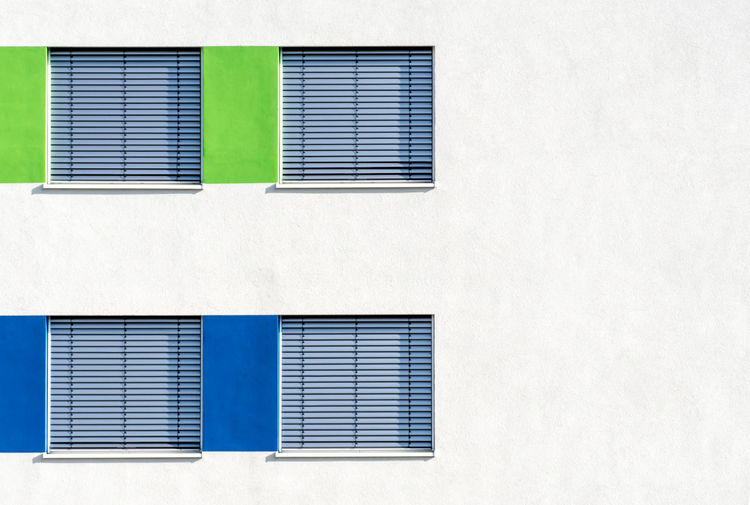 Architecture Architecture_collection Green Architectural Detail Architecture Architecturelovers Blinds Blue Building Exterior Built Structure City Close-up Closed Corrugated Iron Day Full Frame Jalousie Minimalism Minimalistic Minimalobsession No People Outdoors Shutter White Background Window The Architect - 2018 EyeEm Awards