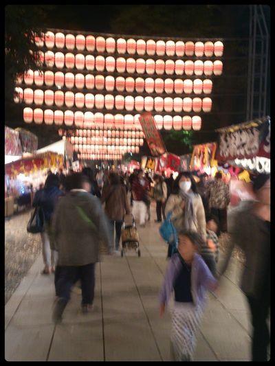 Hi! Enjoying Life Festival Japanese Culture 酉の市 一の酉 Autumn Nightphotography Cook Fair Stall