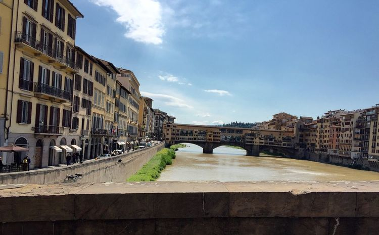 Ponte Vecchio The Place I'm Now Check It Out Beautiful Day Tourism In Florence Nice Shot Hello World Holidays Relaxing Mobile Photograpgy