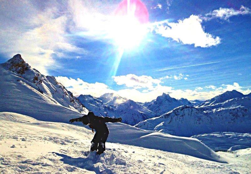 Powder play wiiieeee Check This Out Stanton  Austria Alps ThatsMe Enjoying The View