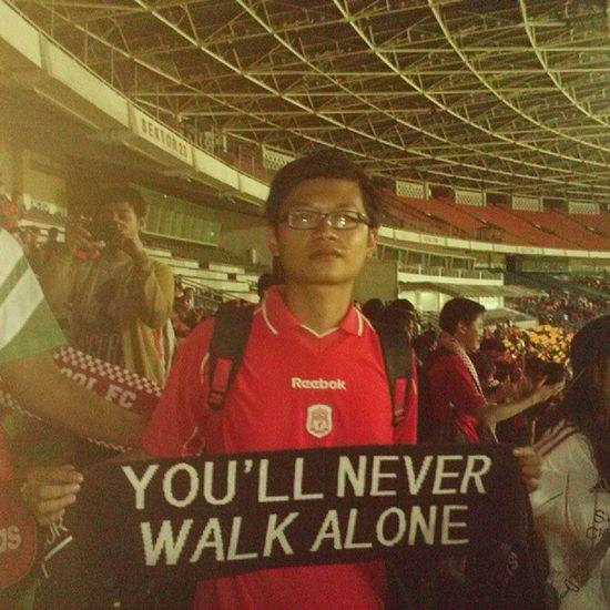 Thank's for the training session, see ya lads tomorrow ! @LFC @lfcinstagram YNWA Lfc INDONESIA