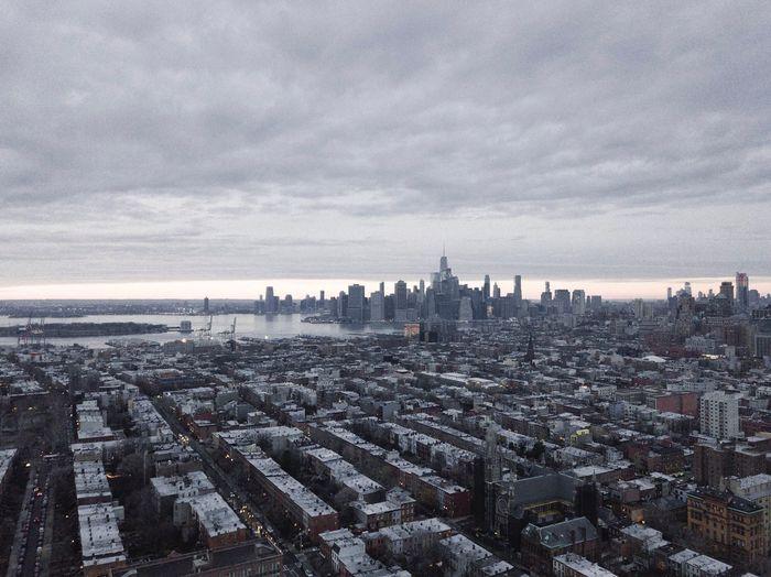 Drone  DJI Mavic Pro Cityscape Sky Architecture Cloud - Sky Building Exterior No People City Skyscraper Built Structure Outdoors Travel Destinations Water Sea