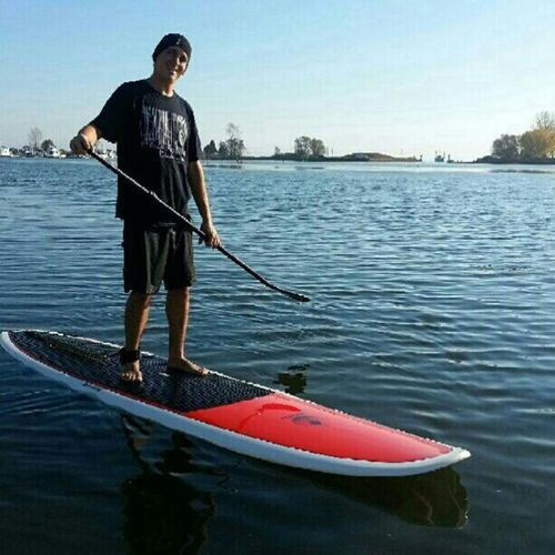 Perfect SUP day. Livewhatyoulove Sup Standuppaddleboarding Loveyogata starbucks