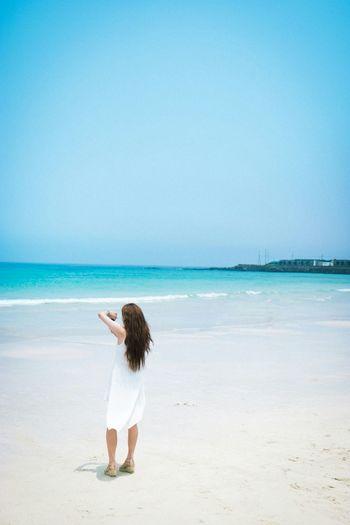 JEJU ISLAND  Beach Life Is A Beach Enjoying Life Taking Photos Scenery Girl EyeEm Best Shots Eye4photography  EyeEm Korea