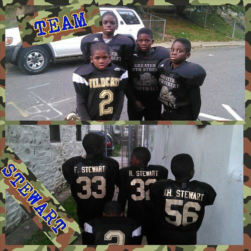 My Squad gettin ready for practice TEAMSTEWART Gowildcats