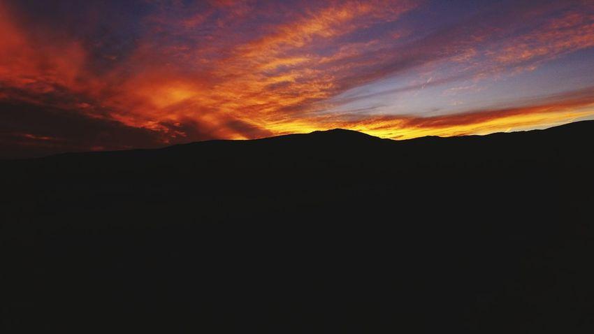 Sunset Mountain Dramatic Sky Landscape Newmexicosunset Newmexicoskies Newmexicosunsets Newmexicophotography Newmexicoskys Newmexicomountain NewMexicoTRUE Dramatic Sky Rural Scene Drone  DJI Phantom 3 Dji Global Air Vehicle Flying