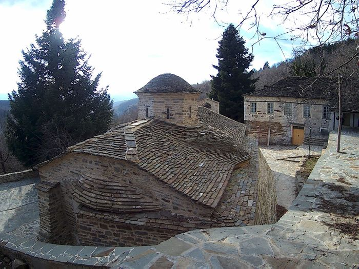 Built Structure Architecture Building Exterior Outdoors No People Day Sky Tree Nature Close-up Tranquility History Arts Culture And Entertainment Zagori Zagorochoria Zagoroxoria,greece