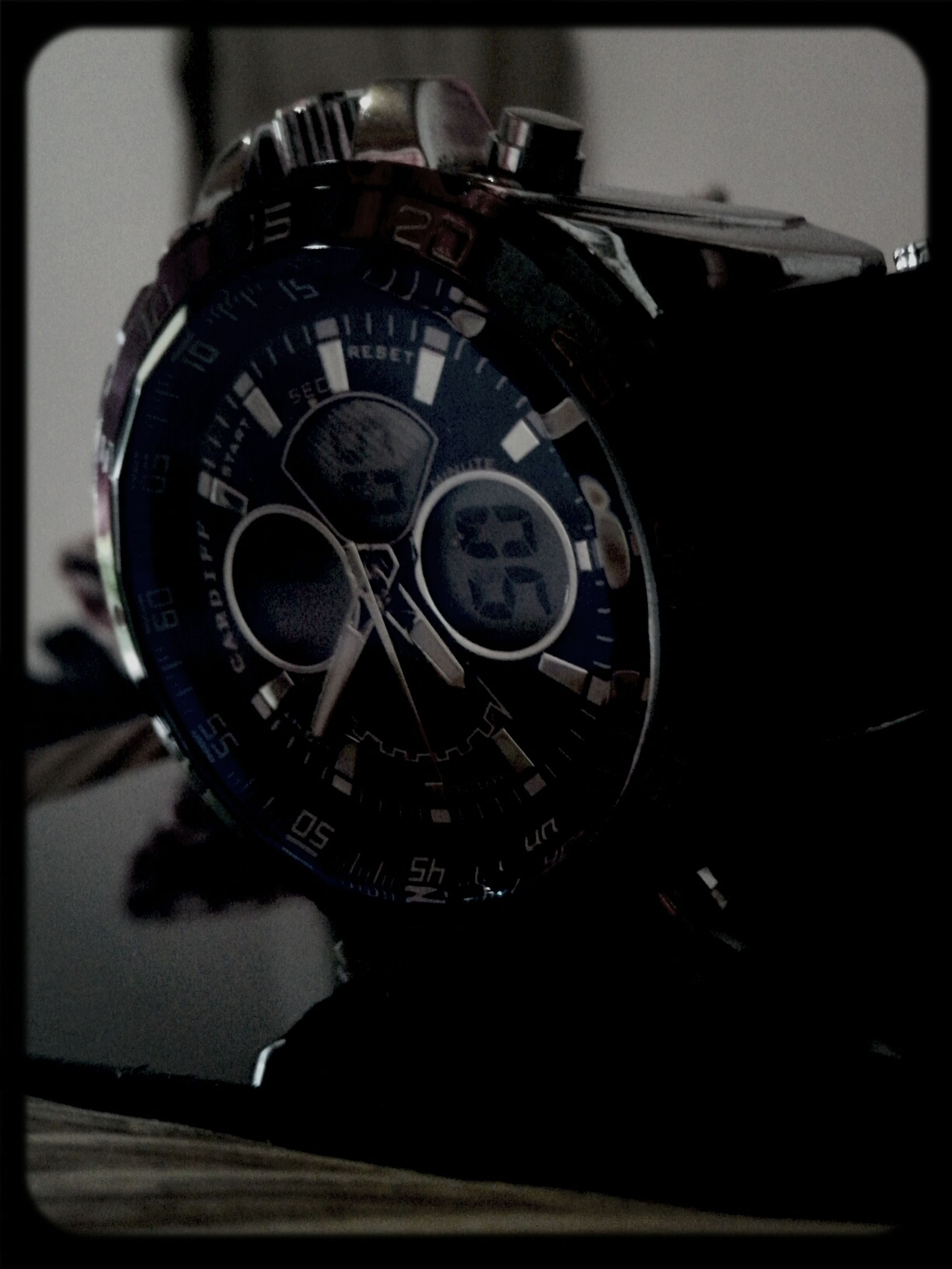 transfer print, auto post production filter, indoors, close-up, old-fashioned, retro styled, clock, technology, metal, time, antique, single object, focus on foreground, part of, no people, circle, old, wheel, number, photography themes