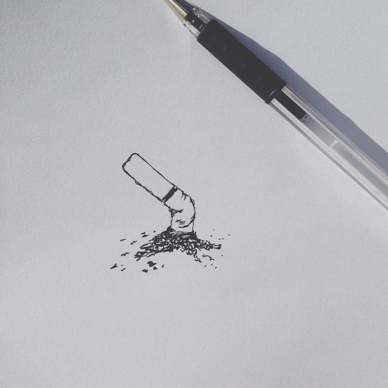 Dont smoke Cigarettes kids. Haha Doodles Procrastinating