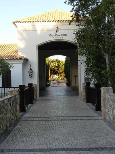 Entrance to
