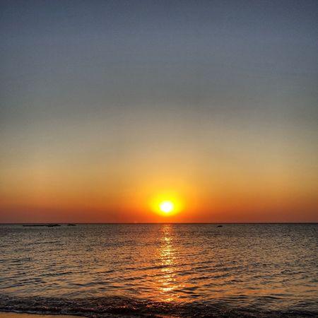 Enjoying Life Sun Rise Sea Colour
