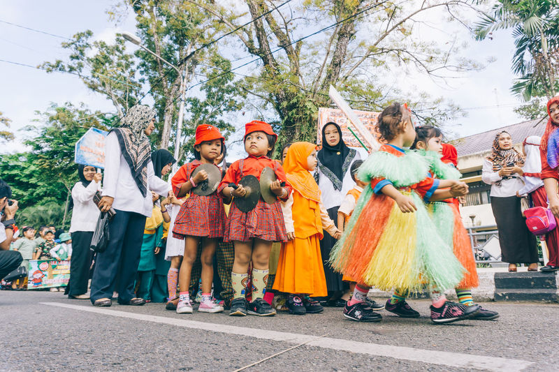 kindergarten carnival Adult Arts Culture And Entertainment Cape  Carnival Carnival Crowds And Details Celebration Child Day Dressing Up EyeEmNewHere Full Length Kids Kindergarten Large Group Of People Music Outdoors People Performing Arts Event Social Gathering Stage Costume Street Street Photography Women Around The World The Street Photographer - 2017 EyeEm Awards The Photojournalist - 2017 EyeEm Awards