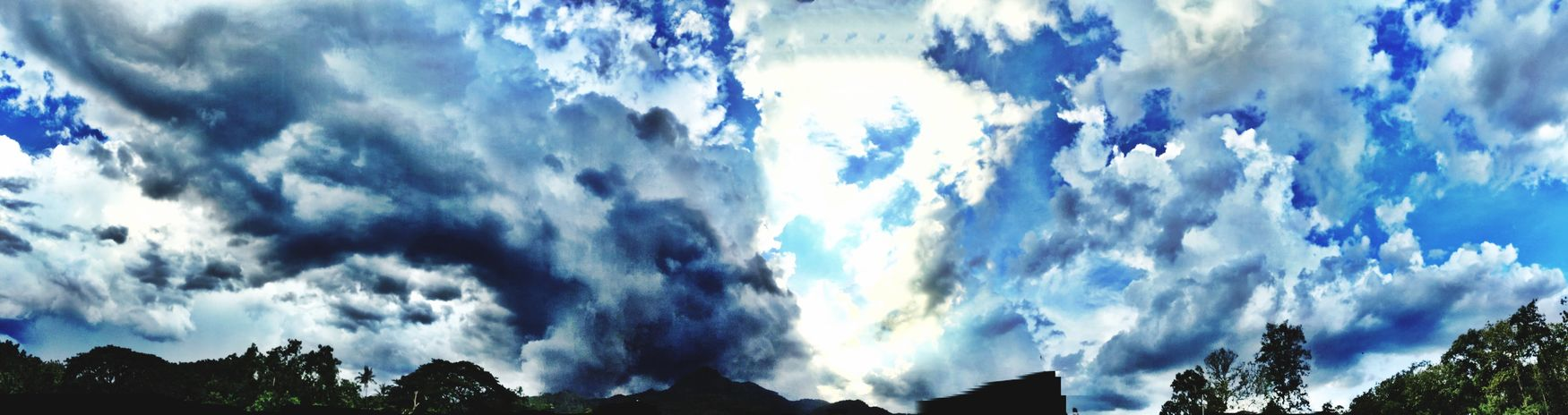 Clouds And Sky Clouds Cloudy Before Rain Sky Collection Panorama IPhoneography
