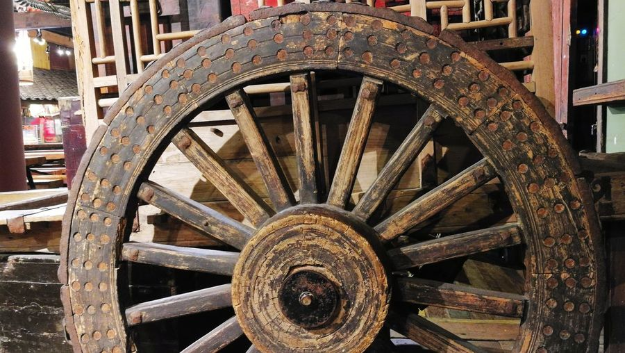 Old, retired but beautiful. Wooden Wheel Cart Wheel Wood - Material Wheel EyeEm Selects Wagon Wheel Wheel Ancient History Close-up Locomotive Concentric Cart Spoke