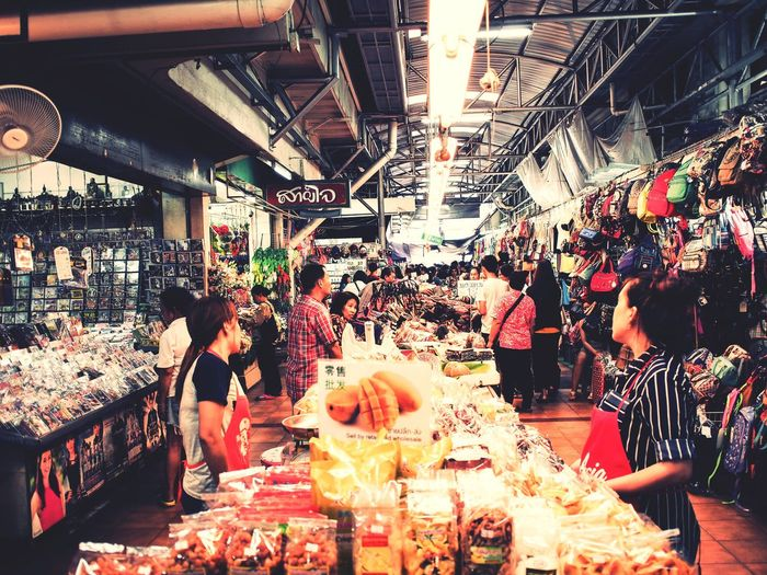 Shop Shopping ♡ Seller Market Chiang Mai | Thailand Foods