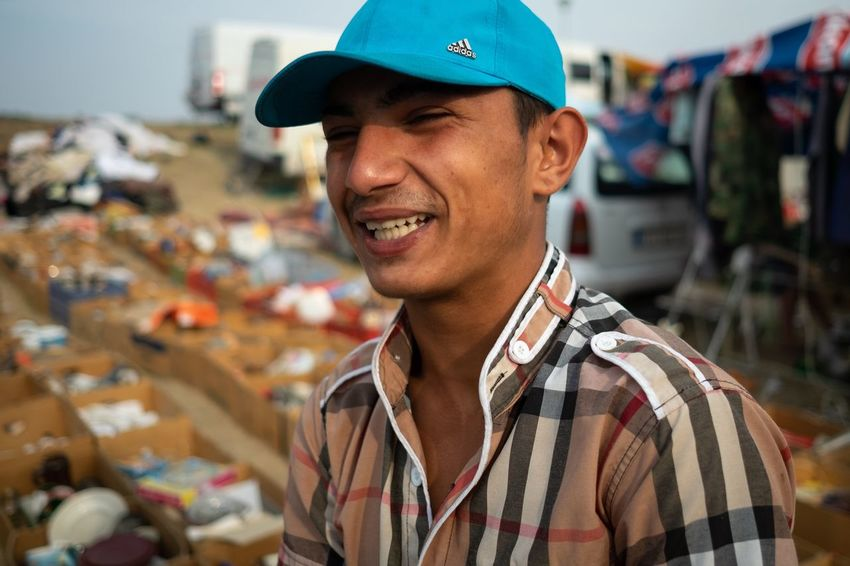 Šabac Fair 2018 One Person Portrait Headshot Smiling Men Focus On Foreground Cap Happiness Outdoors Lifestyles Hat