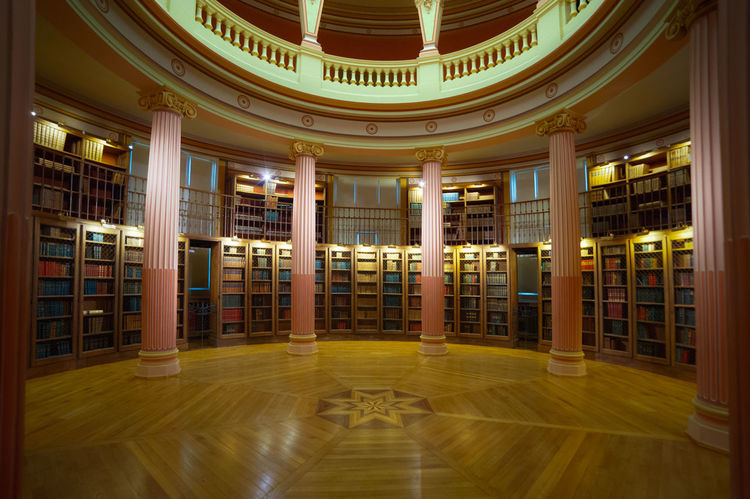 Library in Paris. Architectural Column Architecture Bibliotheque Book Books Books ♥ Bookshelf Bookshelf Day Education Indoors  Justice - Concept Law Learning Library No People Paris Paris ❤ Paris, France  Research Typical University