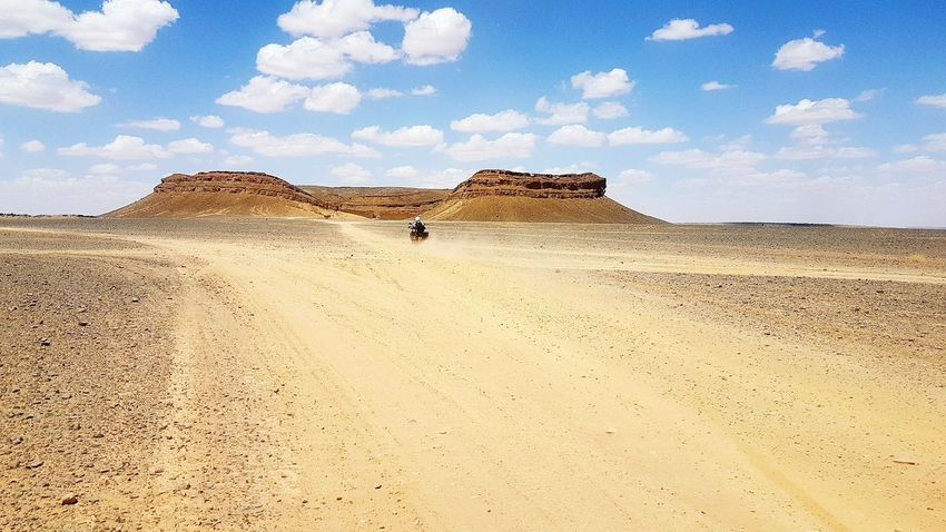 EyeEm Selects Desert Sand Landscape Travel Destinations Motorcycle Xt1200ze Supertenere Motorcycle Photography