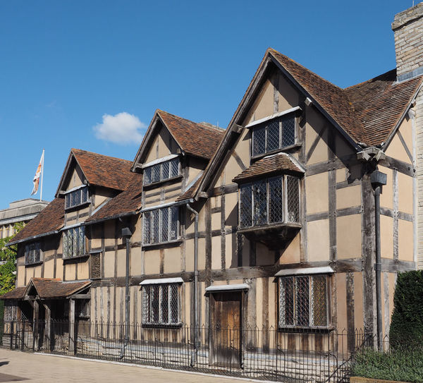 William Shakespeare birthplace in Stratford-upon-Avon Shakespeare Shakespeare House Shakespeare's Birthplace Stratford Stratford Upon Avon Stratford-upon-Avon William Shakespeare England