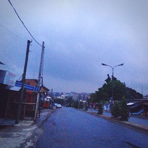 Lone Road Skyporn Lagos Nigeria Road On The Way Showcase July