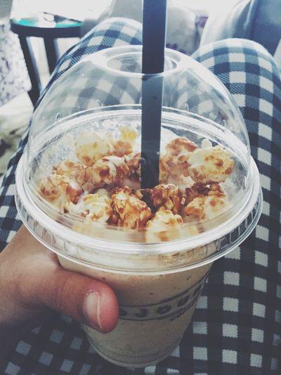Popcorn Coffee Drink Cafe Sweet Caramel INDONESIA Djournal