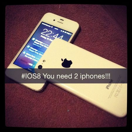 IPhone Apple IOS 8