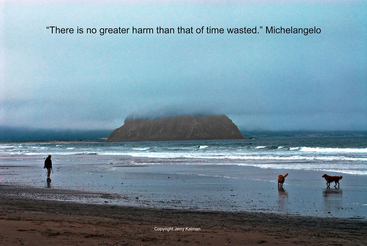 It's #Michelangelo's birthday today and we have an interesting quote of his and a scene at #MorroBay along California's #CentralCoast. If this #quotograph resonates with you feel free to #repost for others to enjoyIt's #Michelangelo's birthday today and we have an interesting quote of his and a scene at #MorroBay along California's #CentralCoast. If this #quotograph resonates with you feel free to #repost for others to enjoy Dogs On Beach M Michelangelo Morro Bay Morro Bay State Morro Jable Quotes Scultptor