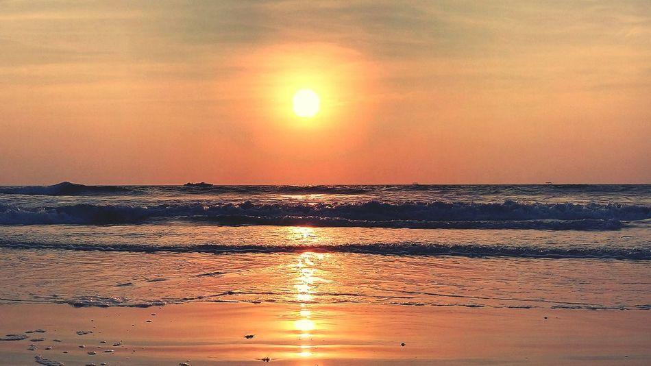 Randomclicks📷 Sunset Colvabeach Goa